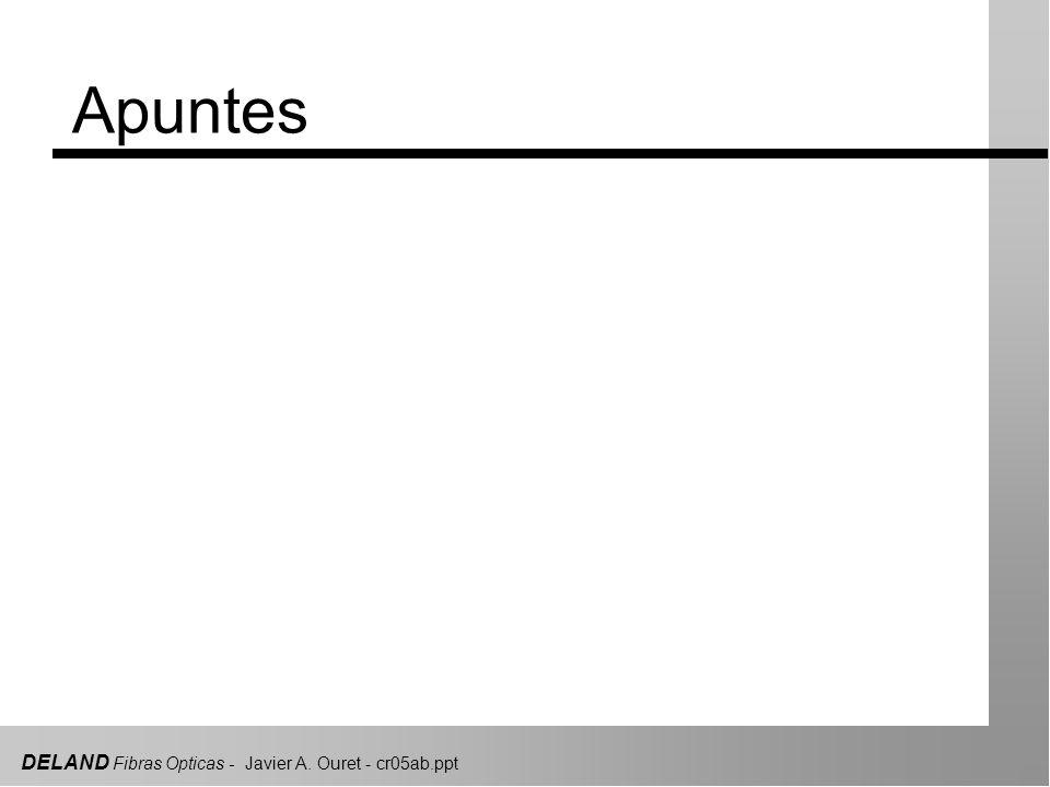 DELAND Fibras Opticas - Javier A. Ouret - cr05ab.ppt Transparencias complementarias