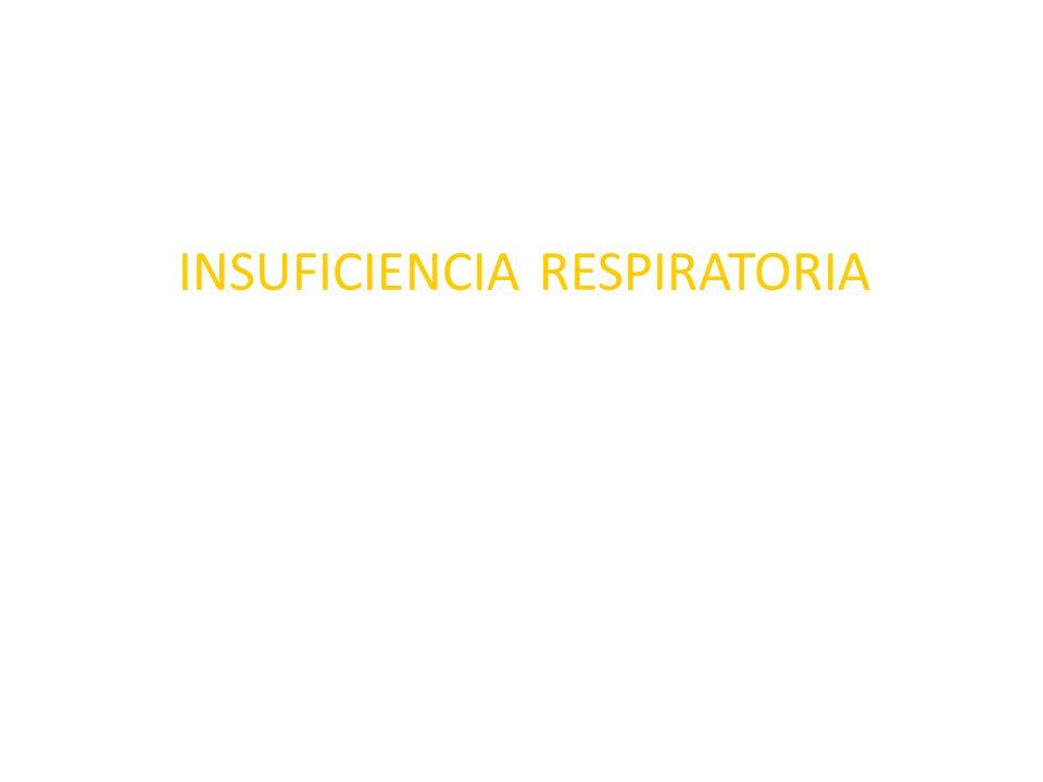 Terapéutica de apoyo en la insuficiencia respiratoria hipercapnica Combatir la fiebre Disminuir la actividad muscular Proporcionar hidratos de carbono Empleo de ventilación mecánica