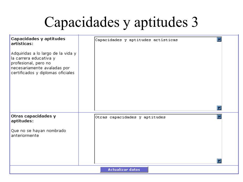 Capacidades y aptitudes 3