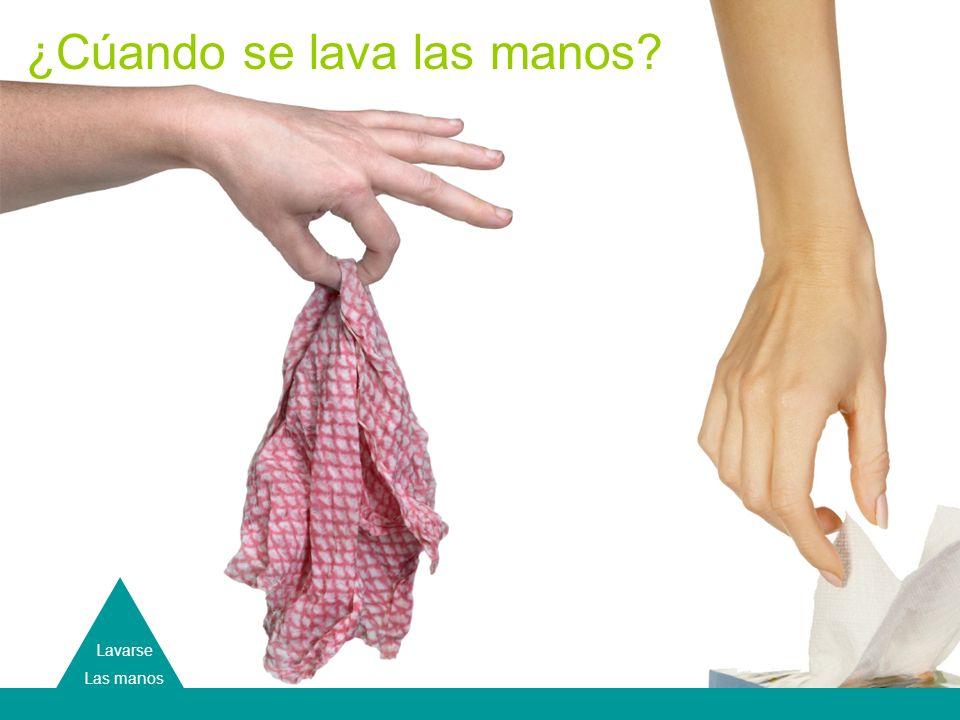 Hand Washing Lavarse Las manos ¿Cúando se lava las manos?