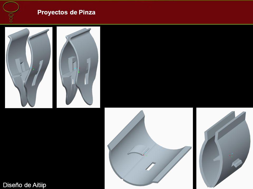 Diseño de Aitiip Proyectos de Pinza