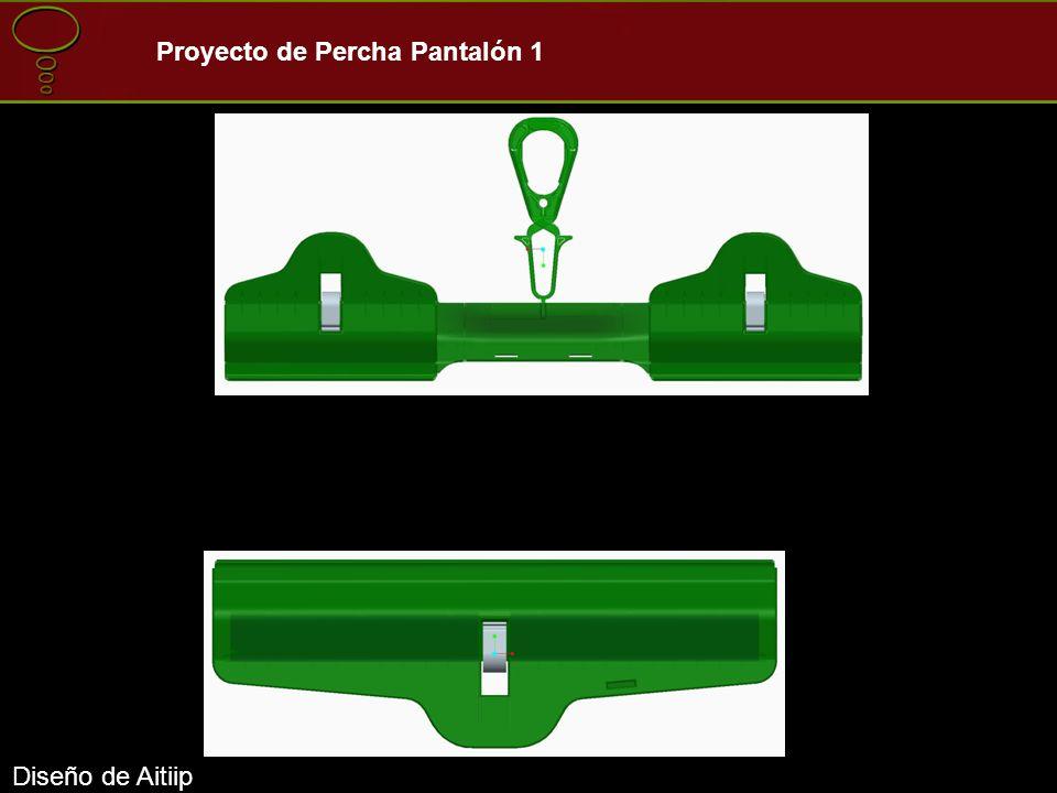 Diseño de Aitiip Proyecto de Percha Pantalón 1