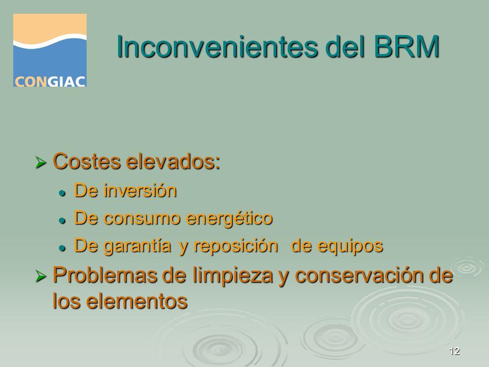13 Los BRM en Catalunya En Catalunya se instaló la primera en 2004 y actualmente hay 5 operativas.