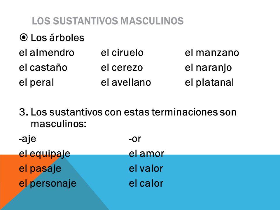 LOS SUSTANTIVOS MASCULINOS -án-ambre el refránel alambre el tucánel enjambre 4.