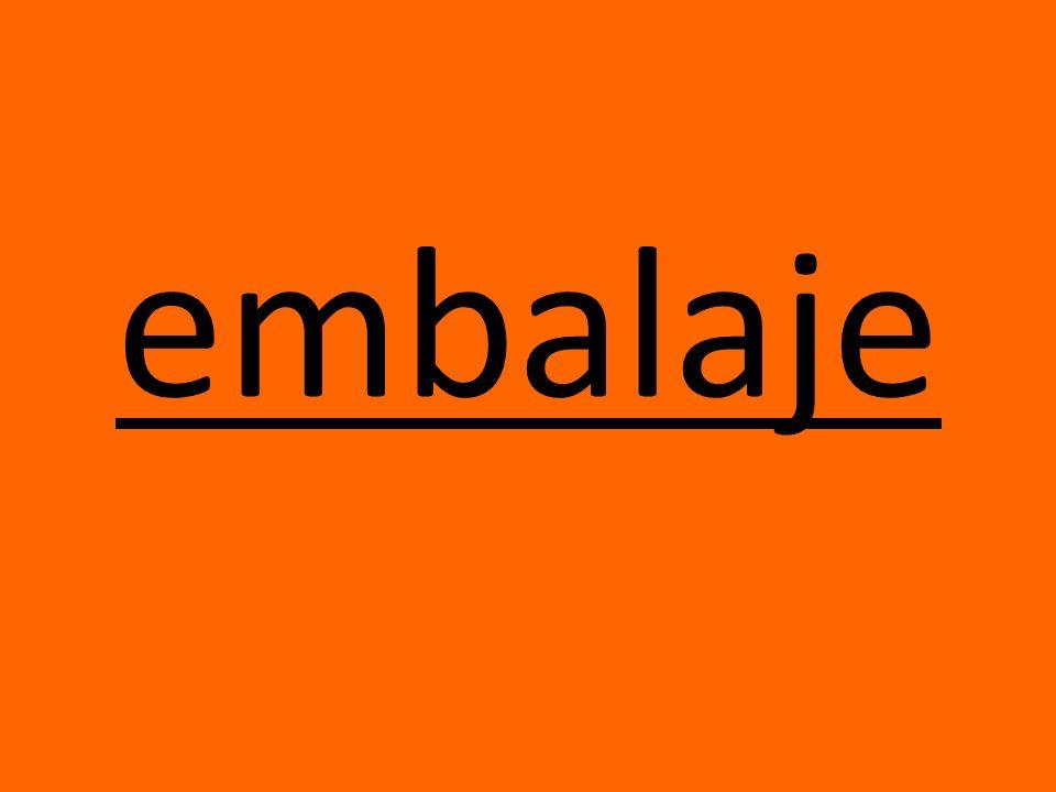 embalaje