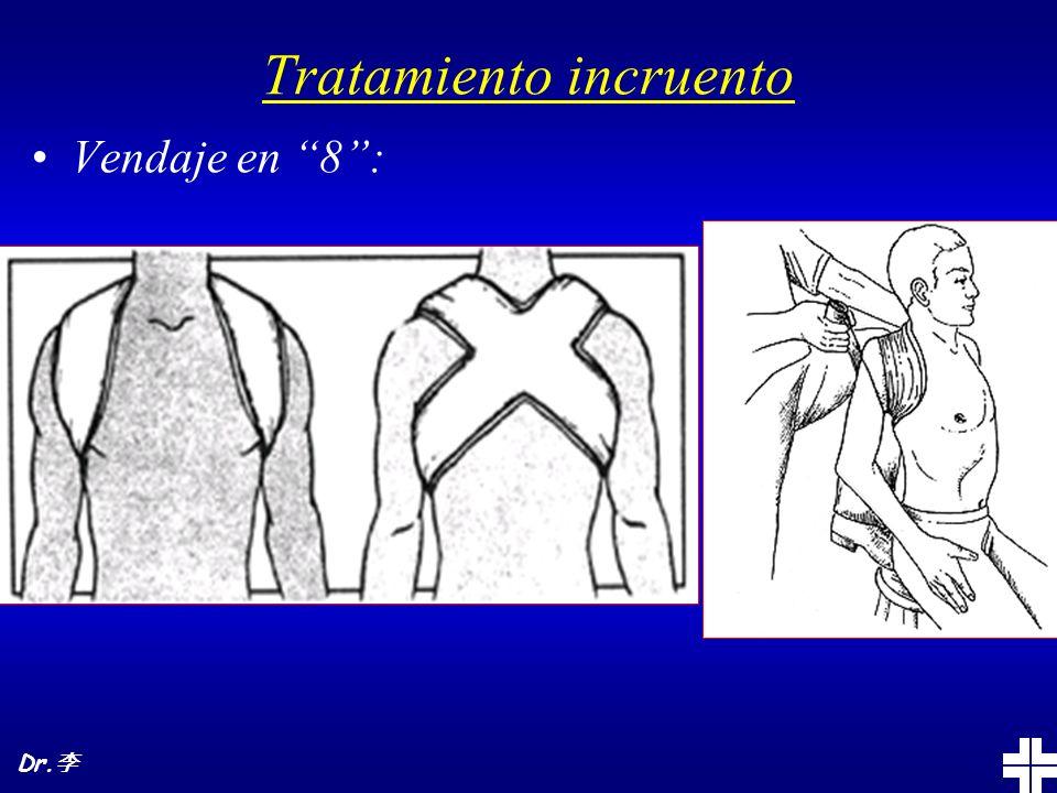 Tratamiento incruento Vendaje en 8: Dr.
