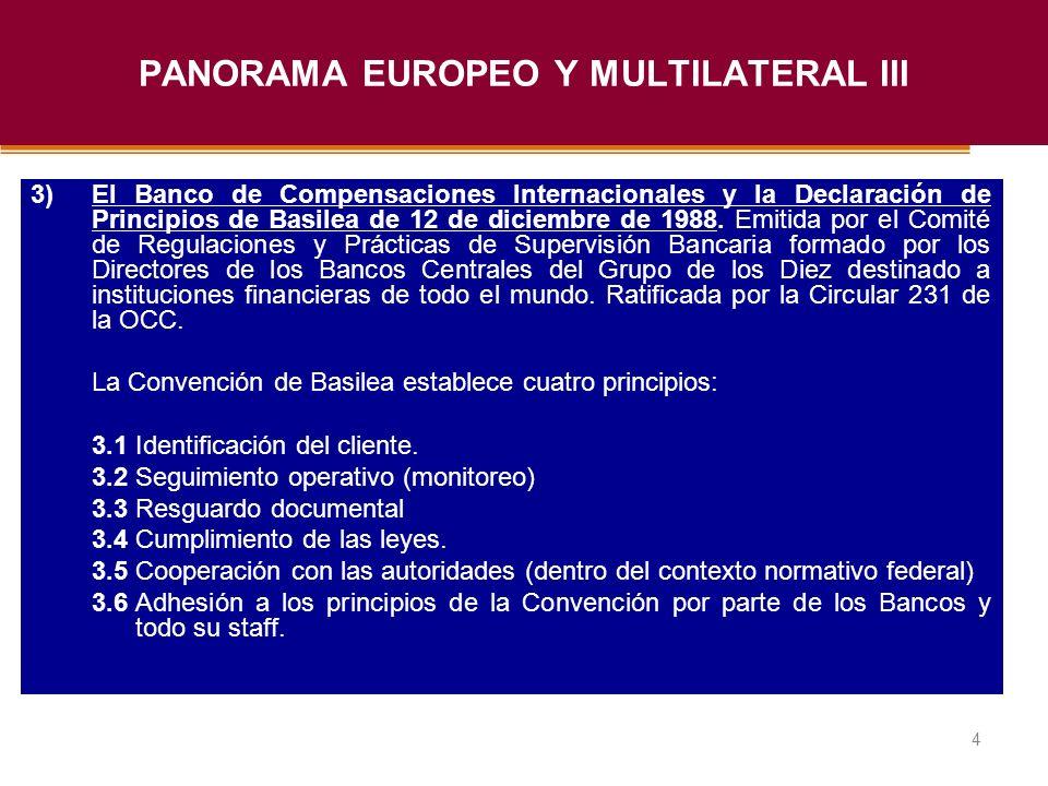 Haga clic para modificar el estilo de título del patrón 4 3)El Banco de Compensaciones Internacionales y la Declaración de Principios de Basilea de 12