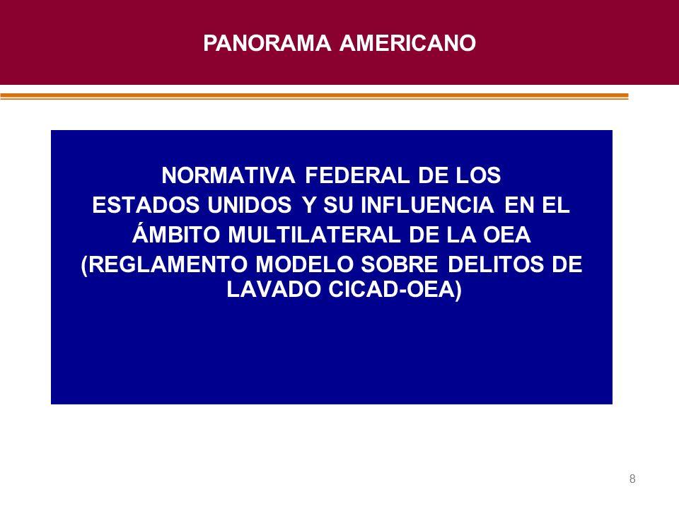 Haga clic para modificar el estilo de título del patrón 88 NORMATIVA FEDERAL DE LOS ESTADOS UNIDOS Y SU INFLUENCIA EN EL ÁMBITO MULTILATERAL DE LA OEA