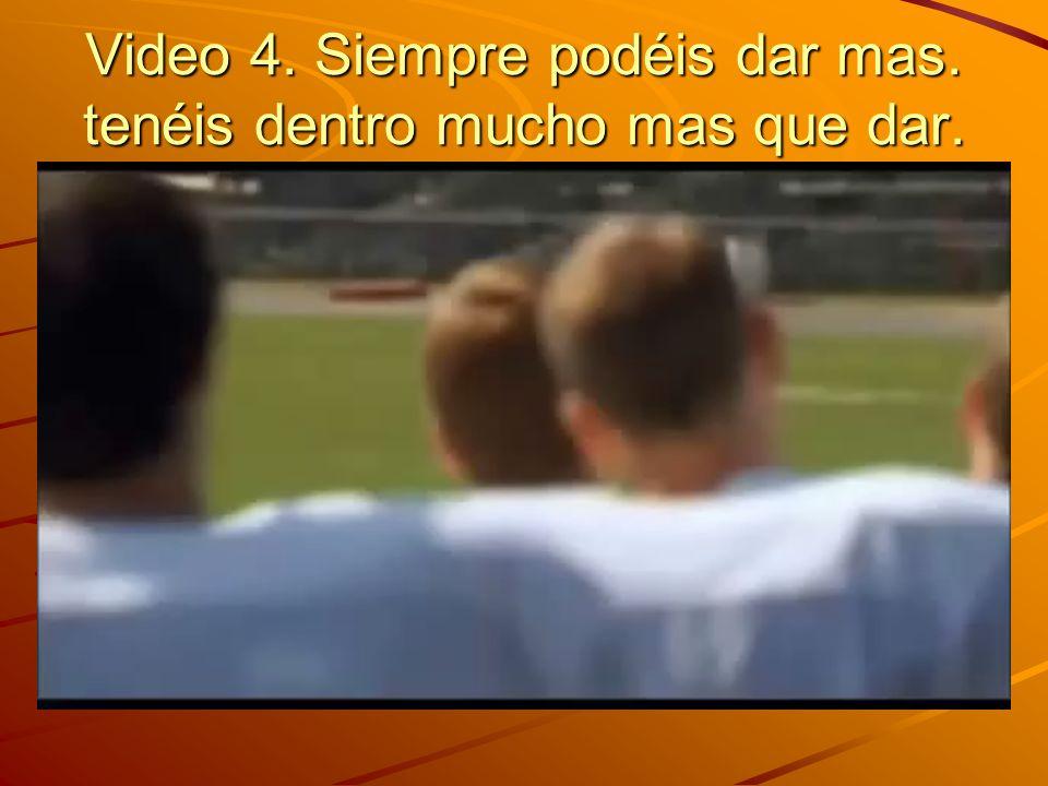 Video 3. llega siempre. Gabriela andersen