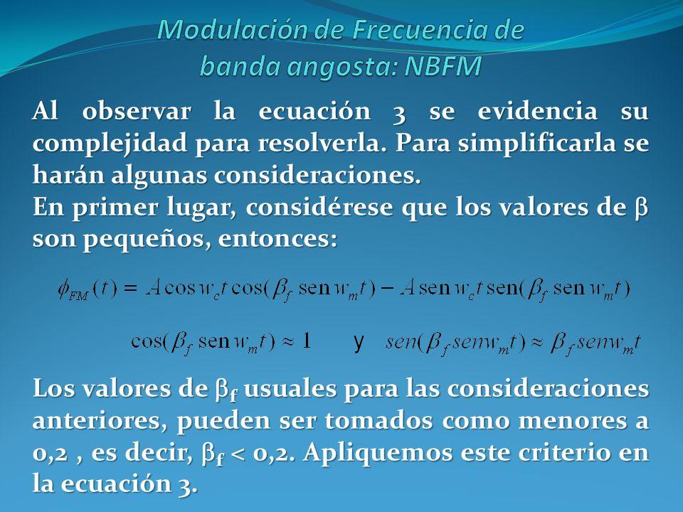 Al observar la ecuación 3 se evidencia su complejidad para resolverla. Para simplificarla se harán algunas consideraciones. En primer lugar, considére