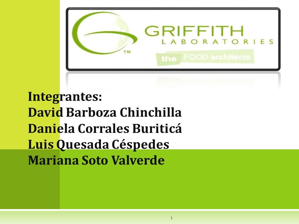 Integrantes: David Barboza Chinchilla Daniela Corrales Buriticá Luis Quesada Céspedes Mariana Soto Valverde 1