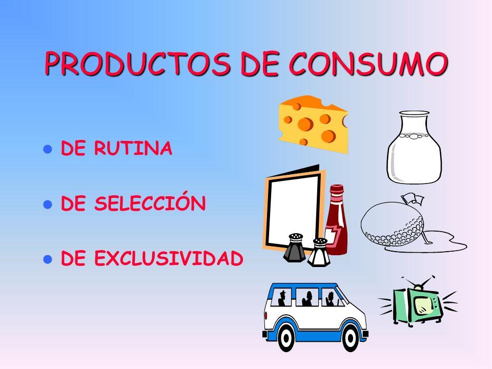PRODUCTOS DE CONSUMO DE RUTINA DE SELECCIÓN DE EXCLUSIVIDAD MILK