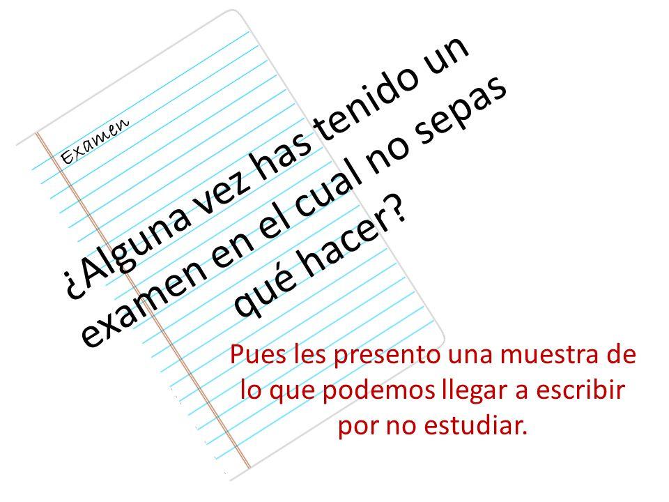 Estas son algunas respuestas de alumnos, a preguntas hechas en los exámenes de distintas materias de la Universidad Católica de Mendoza - Argentina.