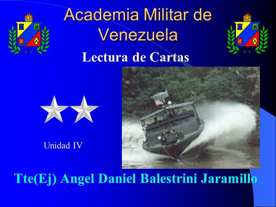 Academia Militar de Venezuela Lectura de Cartas Tte(Ej) Angel Daniel Balestrini Jaramillo Unidad IV