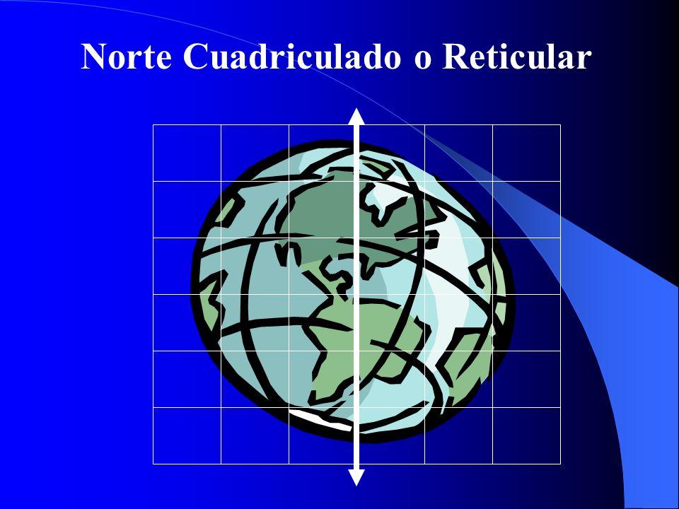 Norte Cuadriculado o Reticular