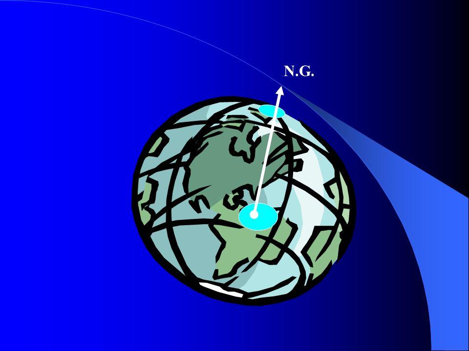 Direcciones Básicas de Referencia NORTE MAGNETICO (NM): Es la dirección del polo Norte Magnético Terrestre.