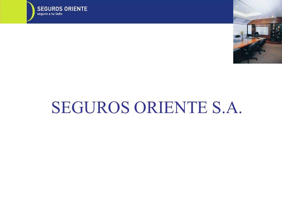 SEGUROS ORIENTE es una aseguradora que opera en Quito y Guayaquil, especializada en Fianzas y Vehículos, ofreciendo además otros Ramos Generales, Técnicos y Seguro de Crédito