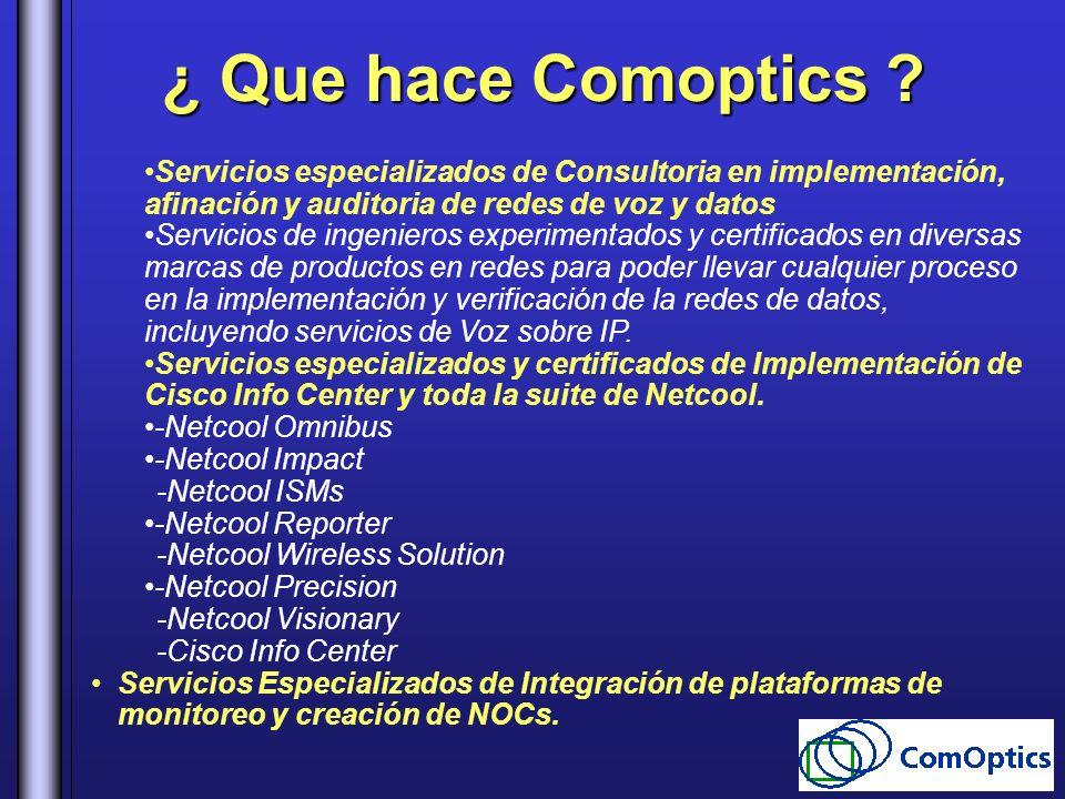 Servicios especializados de Consultoria en implementación, afinación y auditoria de redes de voz y datos Servicios de ingenieros experimentados y cert