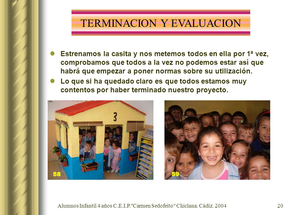 Alumnos Infantil 4 años C.E.I.P.