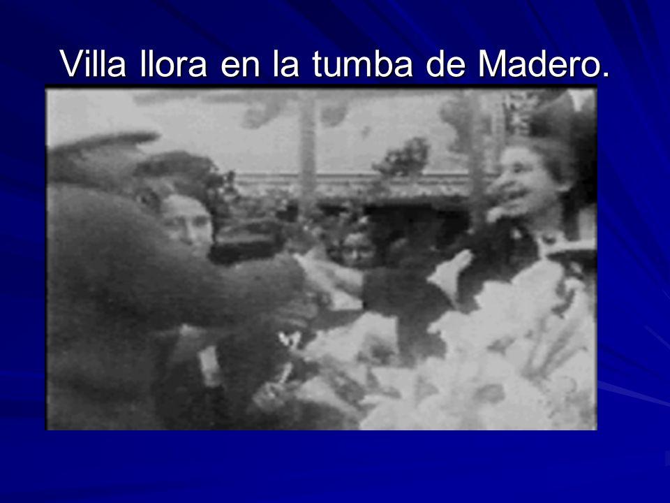 Es llevado a Toluca, de ahí en tren a Manzanillo. De ahí al Paso, Texas. En 1913. Entre el 9 y 18 de Febrero Madero es asesinado.