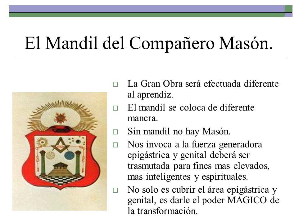 Con el Mandil nuestros Maestros en Logia nos entregaron; La capacidad de expresarnos en el plano MATERIAL y en el plano ESPIRITUAL.