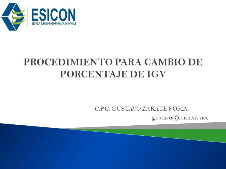 C.P.C. GUSTAVO ZARATE POMA gustavo@contasis.net
