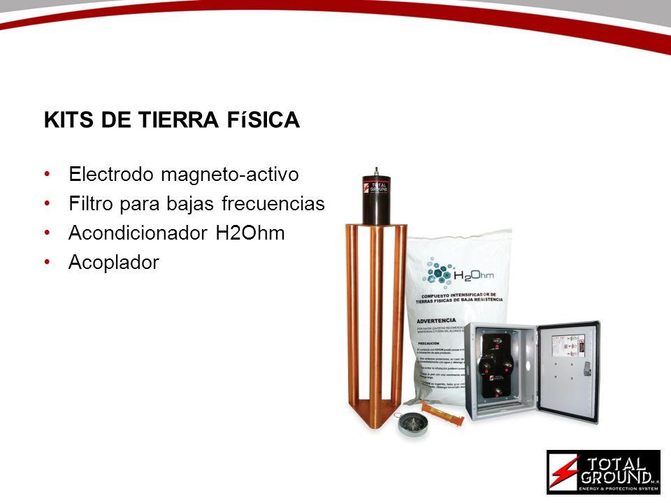 Electrodo magneto-activo Filtro para bajas frecuencias Acondicionador H2Ohm Acoplador KITS DE TIERRA FíSICA