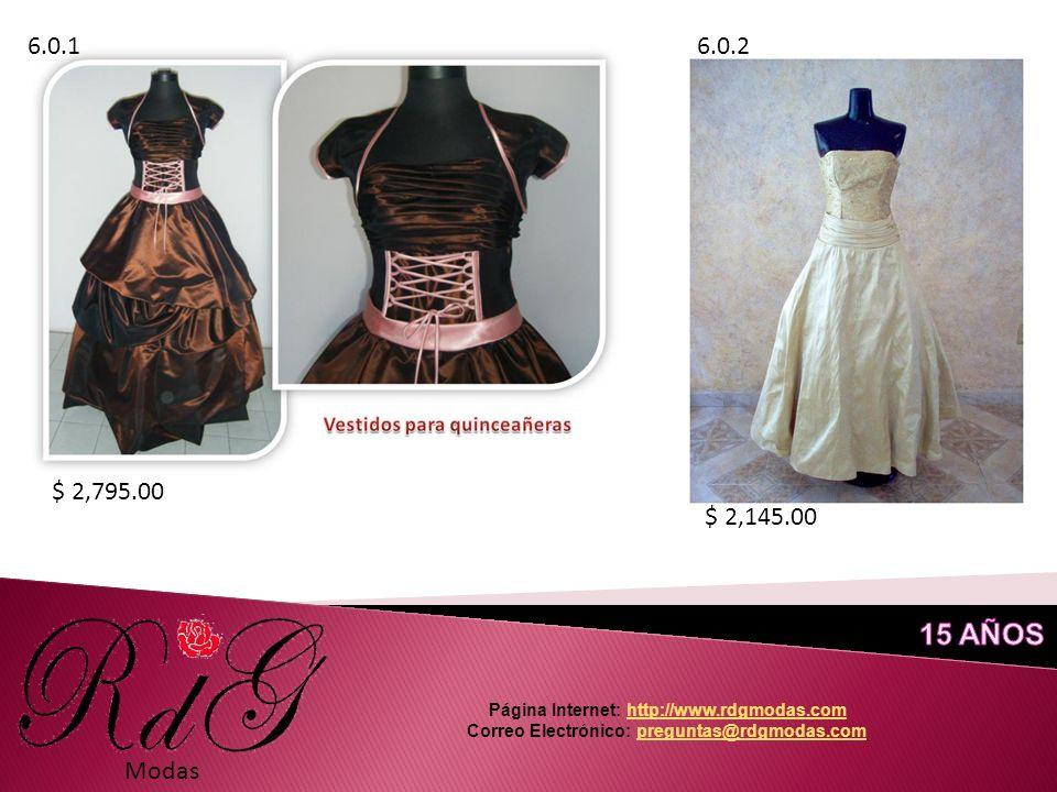 Modas 6.0.16.0.2 $ 2,795.00 $ 2,145.00 Página Internet: http://www.rdgmodas.comhttp://www.rdgmodas.com Correo Electrónico: preguntas@rdgmodas.compreguntas@rdgmodas.com