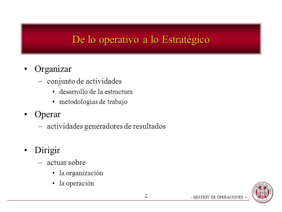 - GESTION DE OPERACIONES – 32 1.-Transporte Interno 2.-Procesos 3.-Empaque4.-Stocks