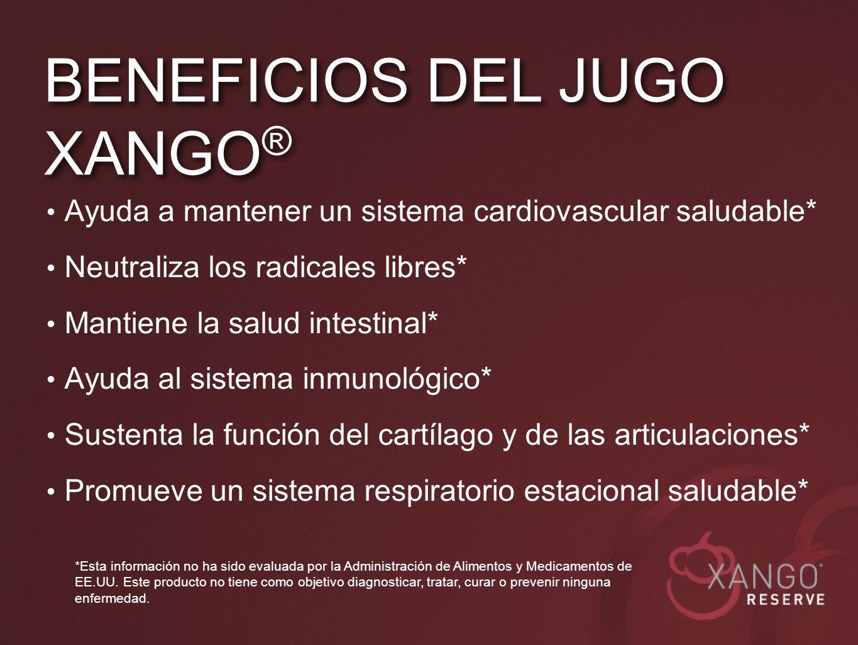 Ayuda a mantener un sistema cardiovascular saludable* Neutraliza los radicales libres* Mantiene la salud intestinal* Ayuda al sistema inmunológico* Su