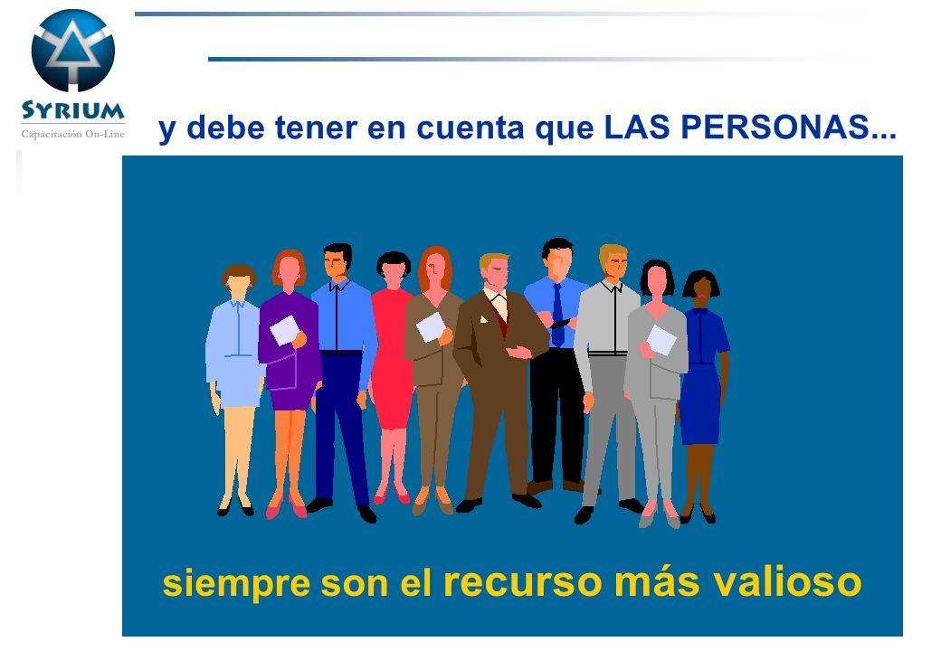 Rosario Morelli, PMP siempre son el recurso más valioso y debe tener en cuenta que LAS PERSONAS...