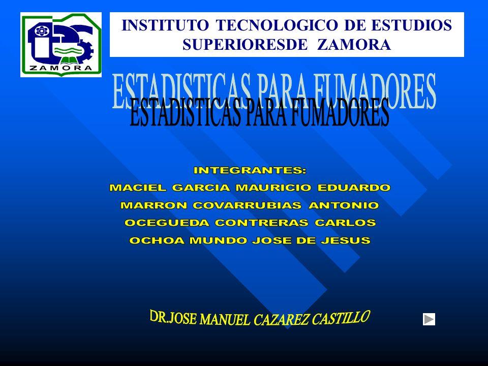 INSTITUTO TECNOLOGICO DE ESTUDIOS SUPERIORESDE ZAMORA