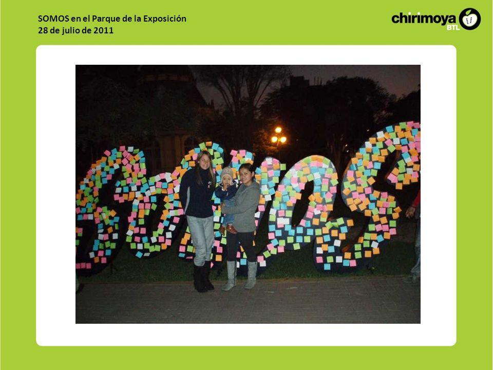 SOMOS en el Parque de la Exposición 28 de julio de 2011