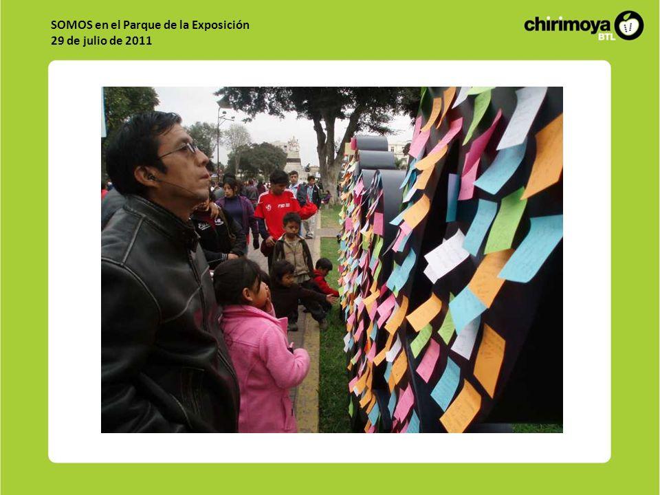 SOMOS en el Parque de la Exposición 29 de julio de 2011