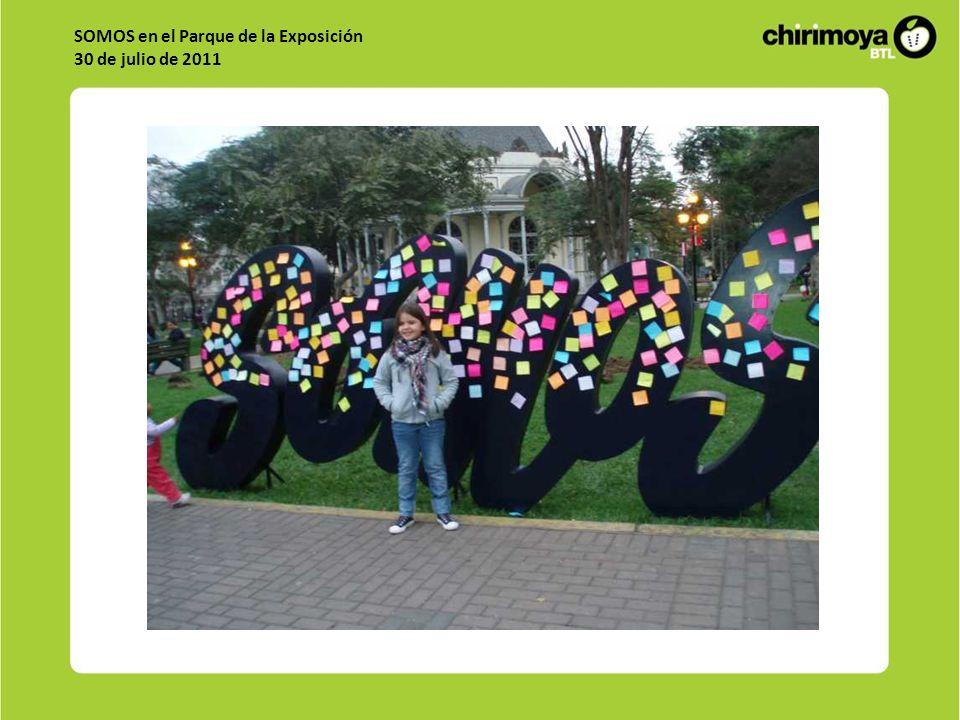 SOMOS en el Parque de la Exposición 30 de julio de 2011