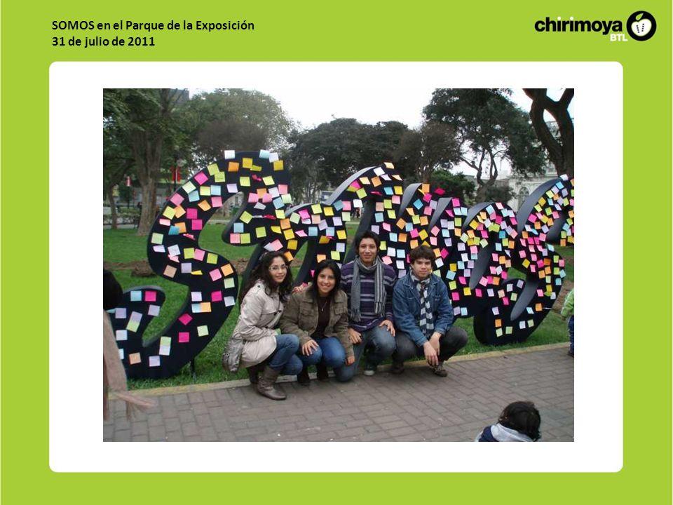 SOMOS en el Parque de la Exposición 31 de julio de 2011