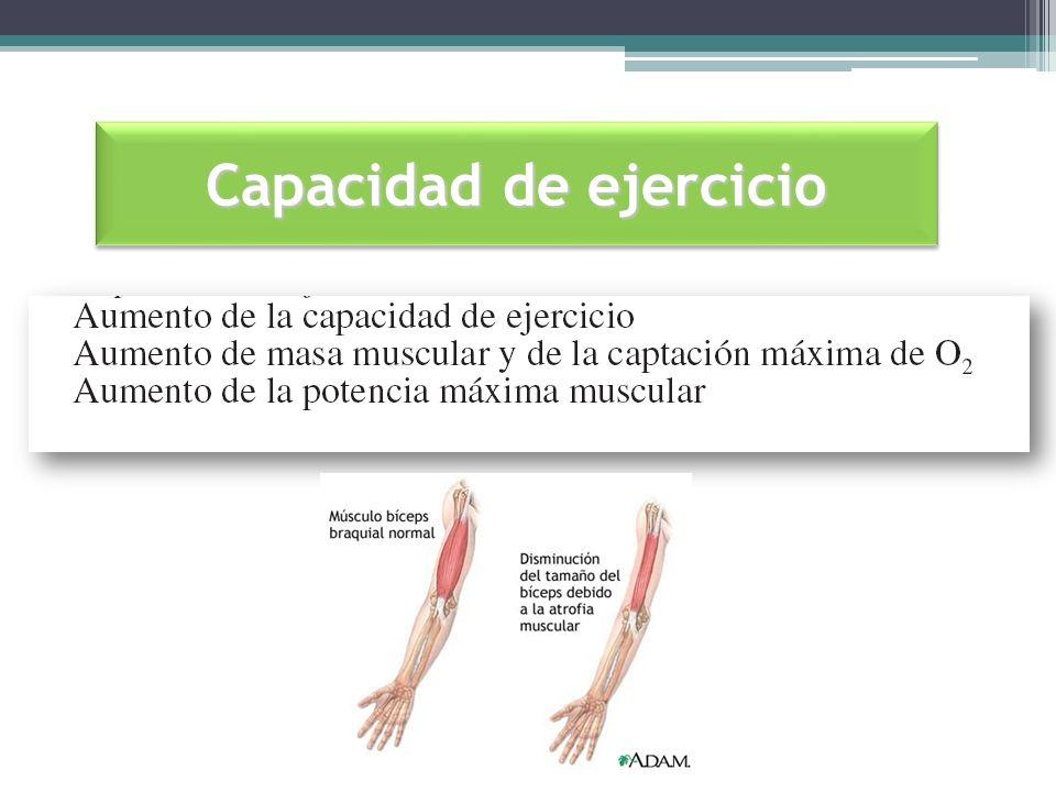 Capacidad de ejercicio