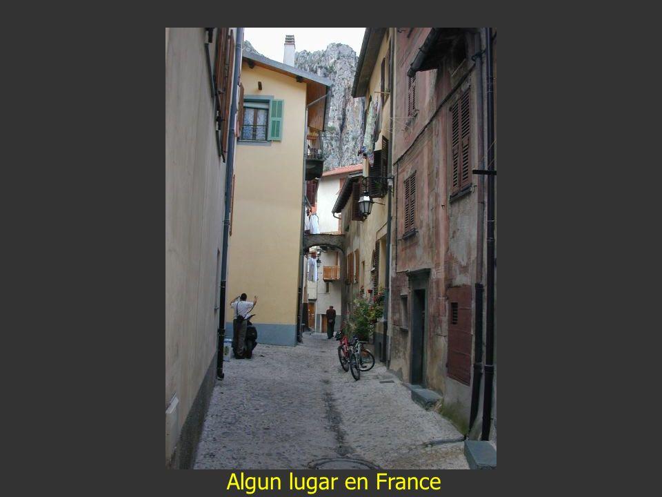Algun lugar en France