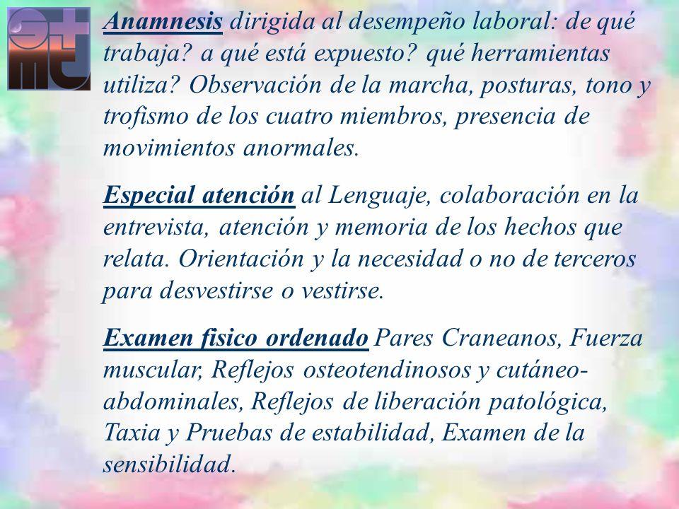 EXAMENES COMPLEMENTARIOS EVALUAN FUNCIONES: ESTUDIOS NEUROFISIOLÓGICOS: EEG, EMG, P.Evocados.
