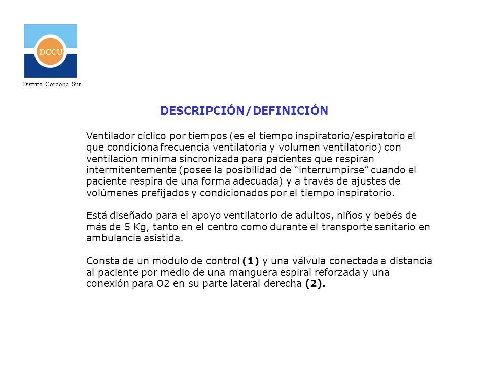 DCCU Distrito Córdoba-Sur Siguiendo con nuestro ejemplo: Para un adulto de unos 75 Kg.