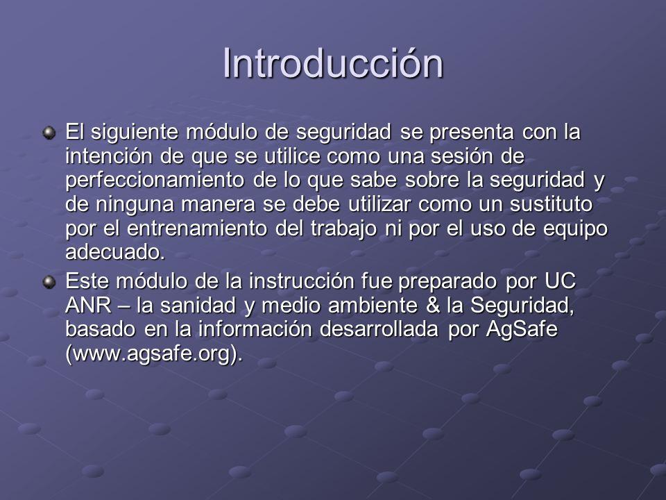 Introducción El siguiente módulo de seguridad se presenta con la intención de que se utilice como una sesión de perfeccionamiento de lo que sabe sobre