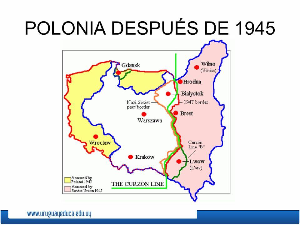 POLONIA DESPUÉS DE 1945