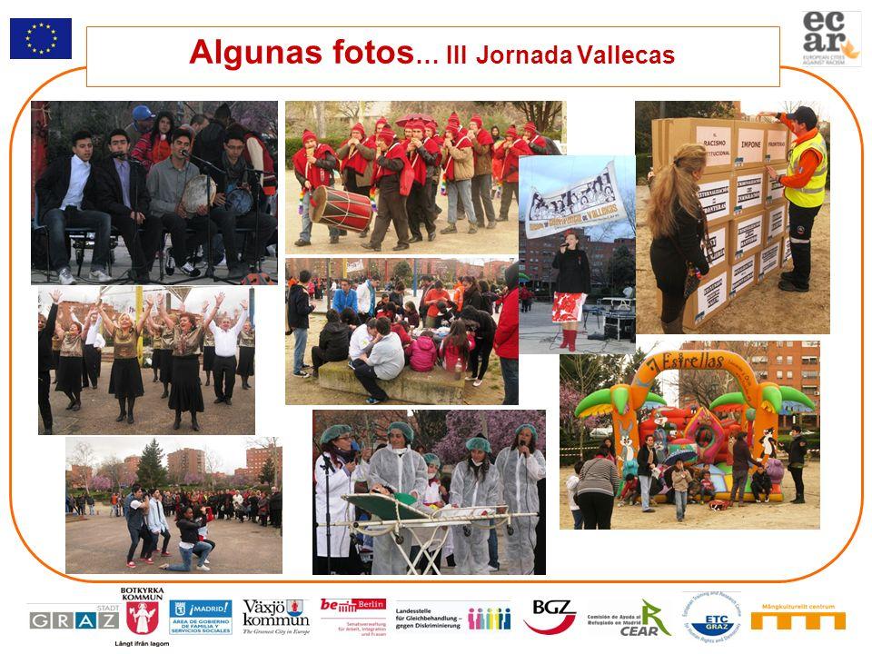 Algunas fotos … III Jornada Vallecas