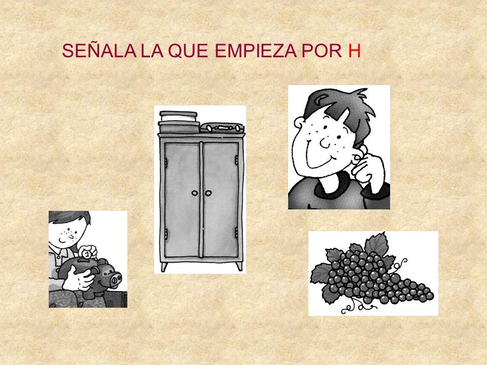 SEÑALA LA QUE EMPIEZA POR H ESPÁRRAGOS EXPRIMIDOR