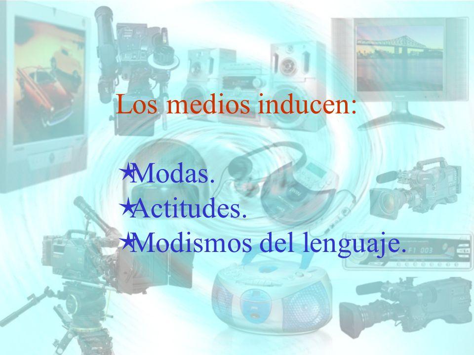 Los receptores estamos expuestos a varios medios de comunicación.