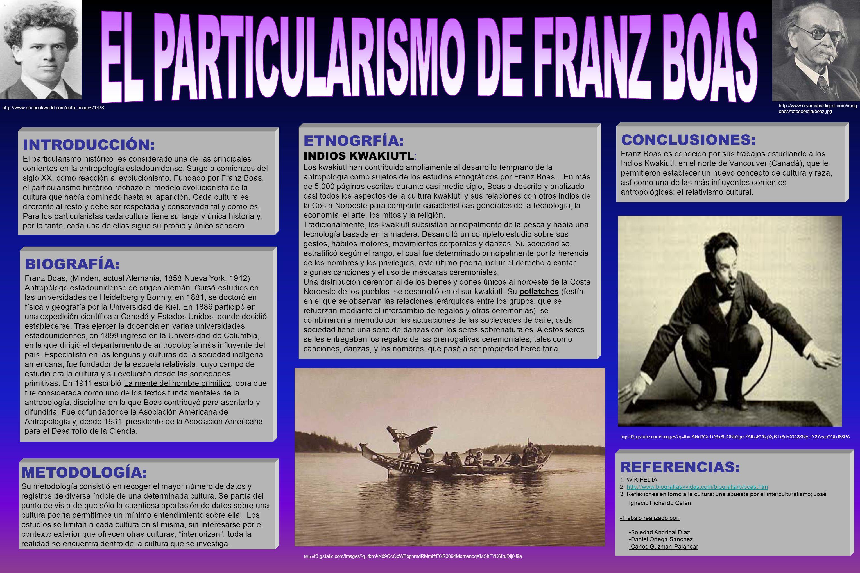 LOGO BIOGRAFÍA: Franz Boas; (Minden, actual Alemania, 1858-Nueva York, 1942) Antropólogo estadounidense de origen alemán. Cursó estudios en las univer