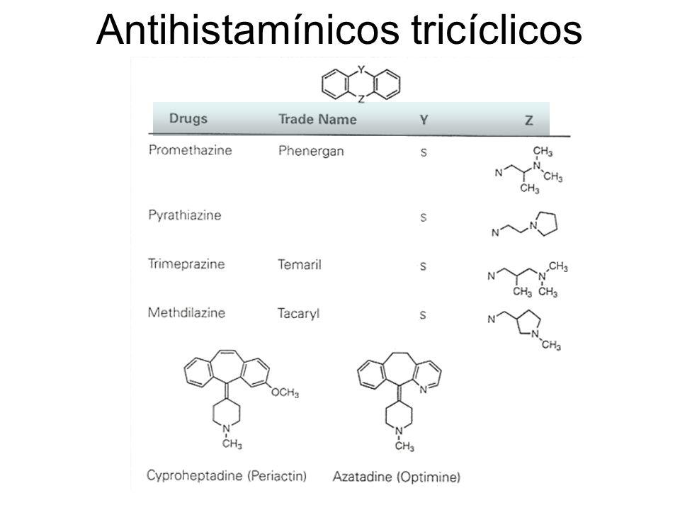 Antihistamínicos tricíclicos