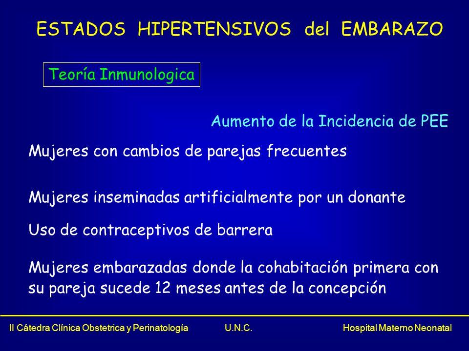 II Cátedra Clínica Obstetrica y Perinatología U.N.C.