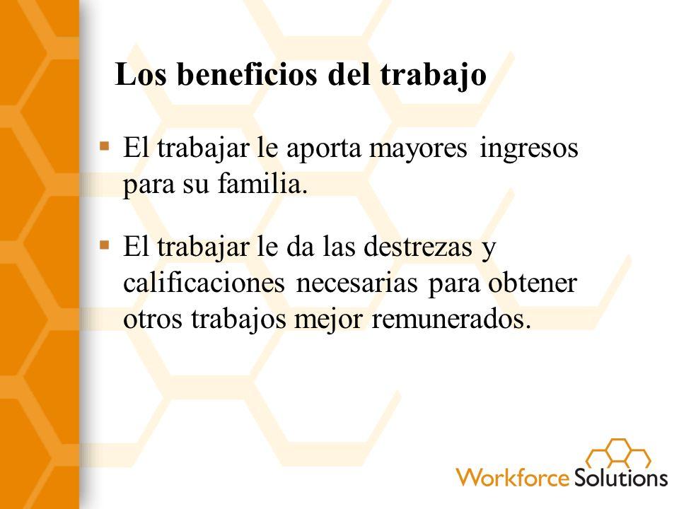 Como realizar su búsqueda laboral Dedique ___ horas por semana a buscar trabajo y participar en las actividades organizadas por Workforce Solutions.