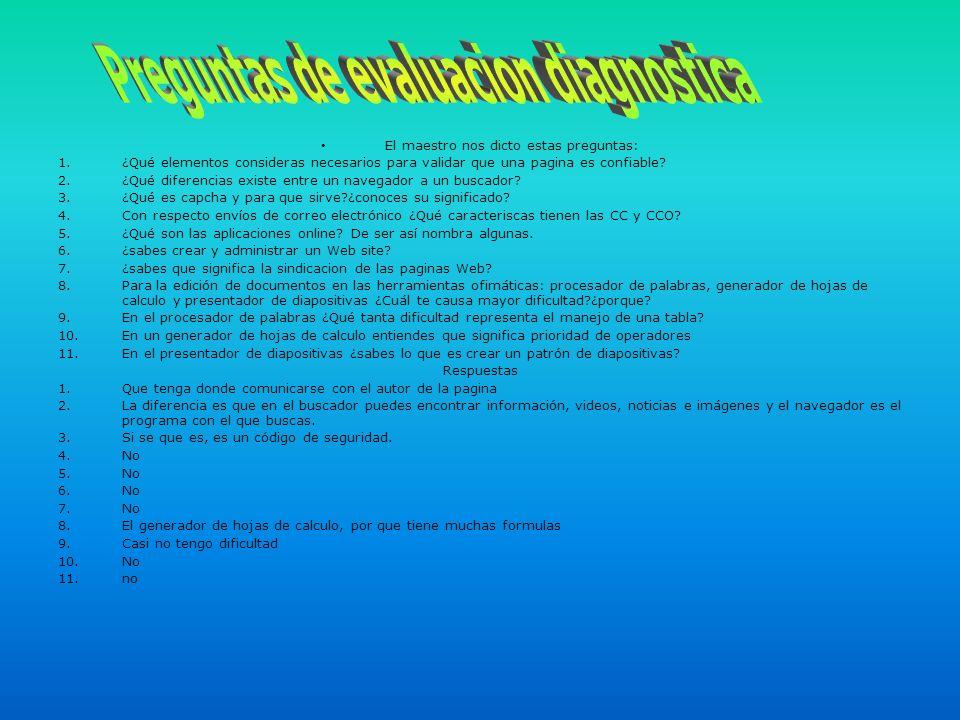 Modificación del insumo 1 El maestro nos dijo que descargáramos el insumo 1 de esta pagina: Sites.google.com/site/tic22012a.
